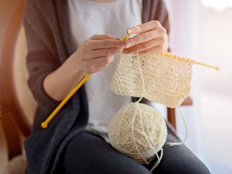 Teach Basic Knitting