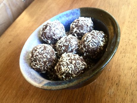 Vegan~Chia~Date Truffles