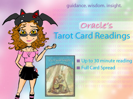 Oracle Tarot Card Readings!
