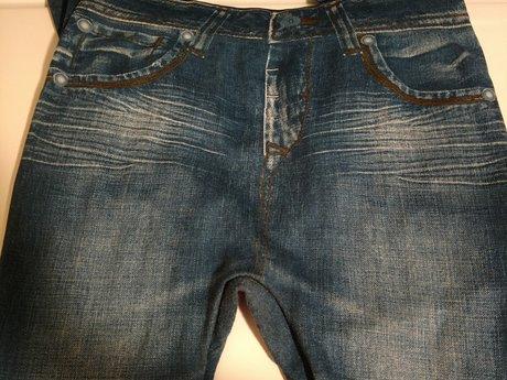 Leggings - Jean Looking - Fleece