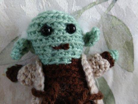 Handmade Yoda Crochet