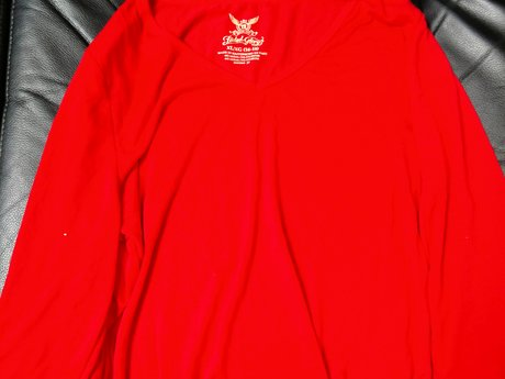 Red Long Sleeve T-shirt Gently Used