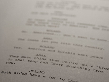 TV Screenplay Notes