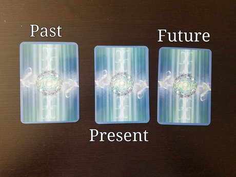 3 Card Past, Present, and Future
