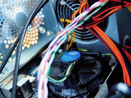 Computer hardware repair.