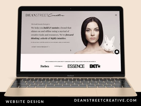 1 Page Wordpress Design