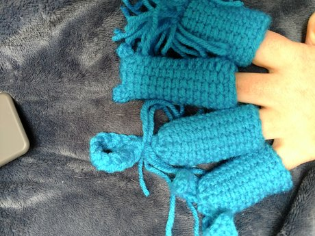 Finger Puppets - Crochet - Handmade