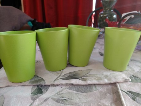 Plastic Cups - Set of 4 - Gently Us