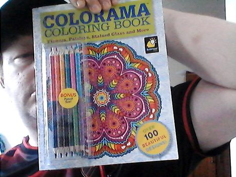 coloramia Coloring Book W/pencils