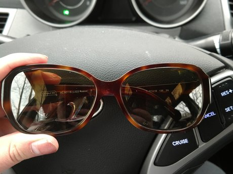 Coach Sunglasses Prescription Used