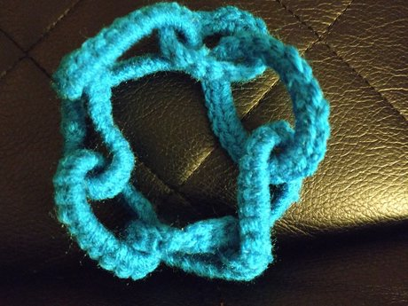 Fun Crochetted Bracelet - Handmade