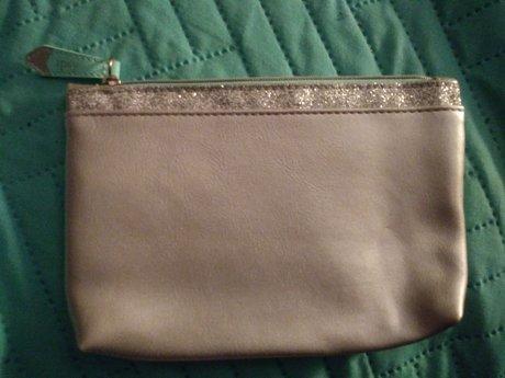 Ipsy Makeup Bag - Silver