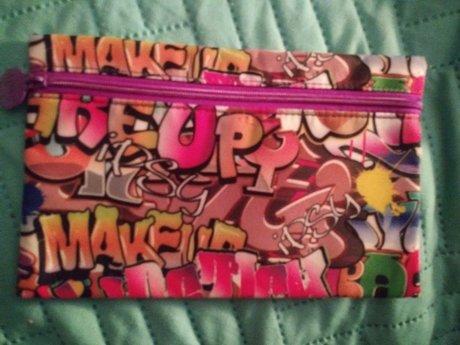 Ipsy Makeup Bag - Graffiti