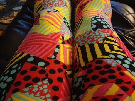 LuLaRoe Leggings OS - Gently Used