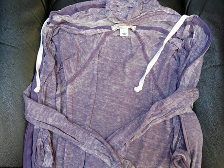 Purple L Hoodie - Very Light - Used