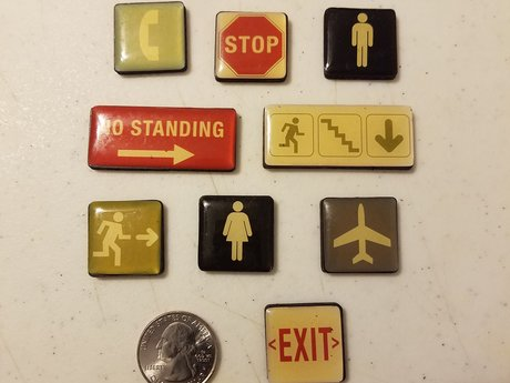 Magnet Set - Survival Signs