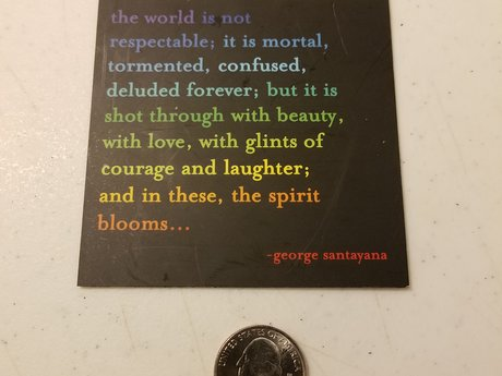 Magnet - Spirit Blooms quote