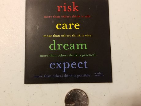 Magnet - Risk Care Dream Expect