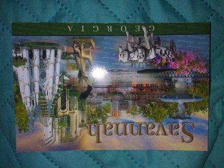 Postcard of Savannah, GA