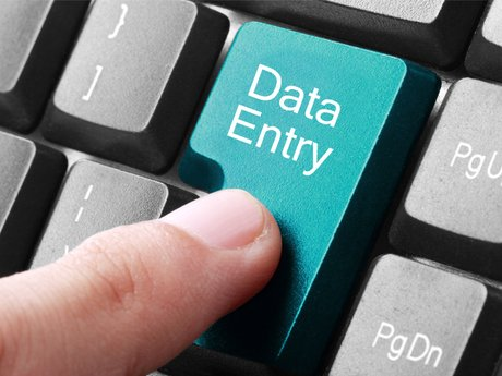 Data entry and voicemail recordings