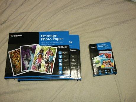 Premium Polaroid Photo Paper