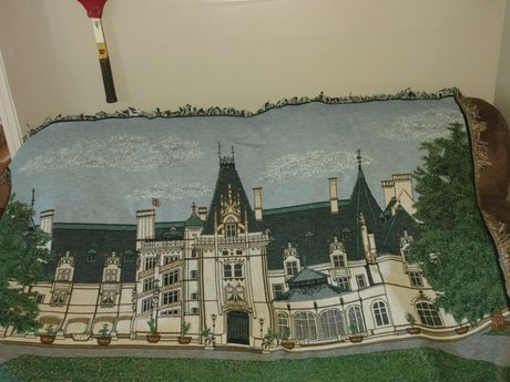 NC Biltmore Estate Rug Wall Hanging