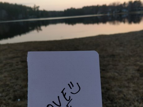 Love Note from a Lake in NH:)
