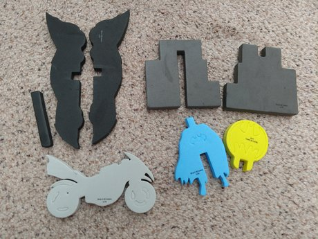 Batman - Foam Pieces