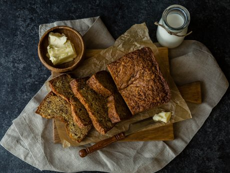 Vegan Banana Pecan Bread Recipe