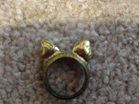 Cat Ears Ring - Sz. 6.5/7