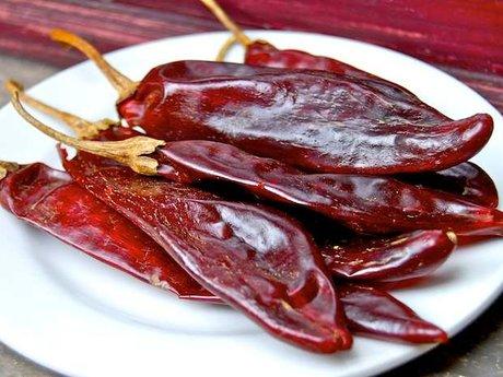 Peppers for my echillada recipe