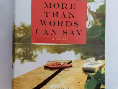 More than words can say. Hardback.