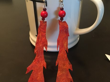 Dragon's breath Kombucha Earrings