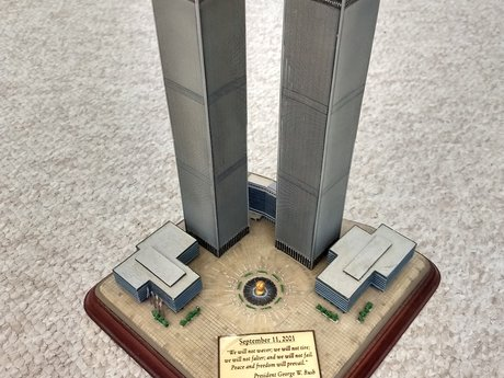 Twin Towers commemorative