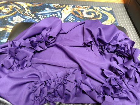 Small Lap Blanket - Handmade Ties -