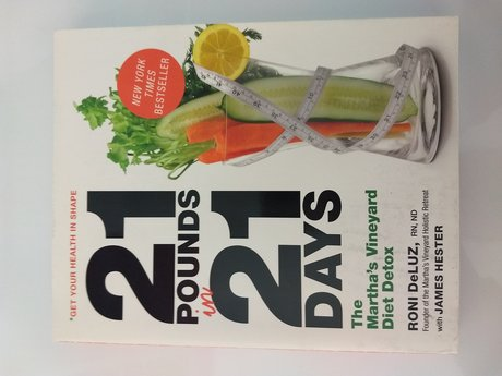21 pounds in 21 days book