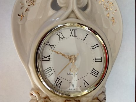 Collectible Avon Angel Clock