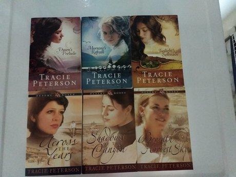 6 Tracie Peterson Books