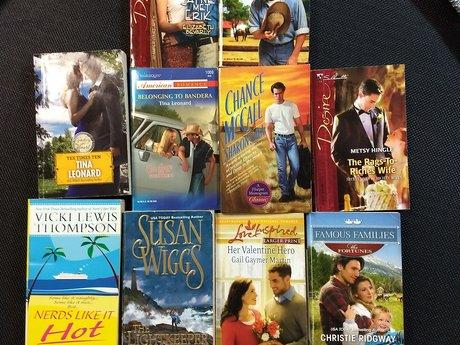 10 romance novels