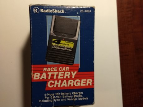 Race car battery charger