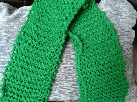 Scarf - Handmade Knitted
