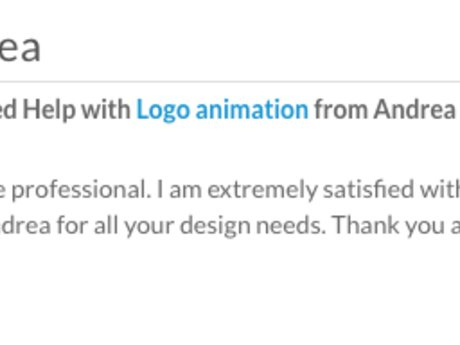 I will Animate your Logo