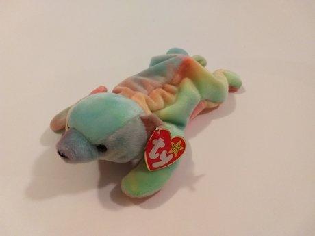 Beanie Rainbow Bear NWT