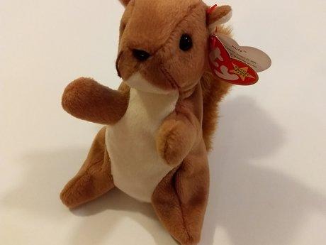 Beanie Squirrel NWT