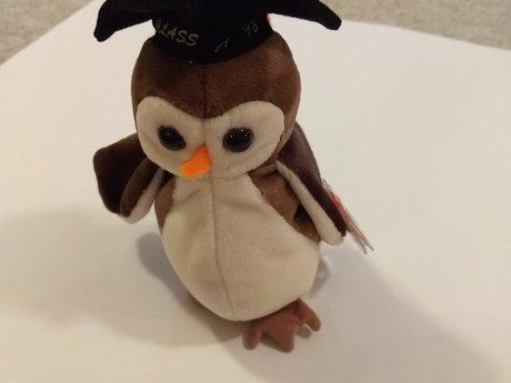 Beanie Owl NWT