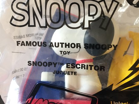Mcdonalds Snoopy Toy