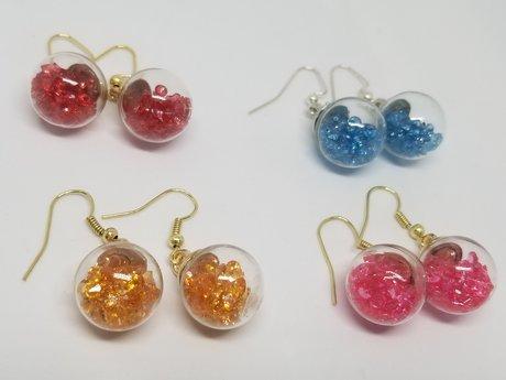 Spring Bulbs Earrings Set