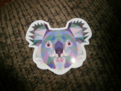 Pixelated Koala Sticker