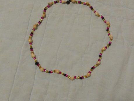 Delicate, colorful necklace