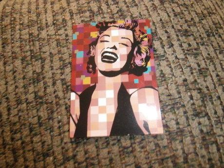 Pixel Marilyn Monroe Sticker